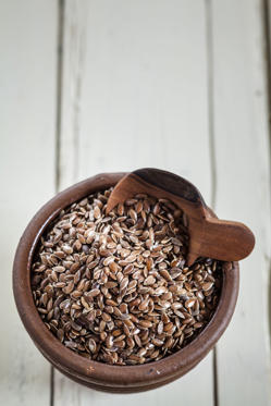 "<p>Like salmon, flaxseeds are packed with <a href=""http://www.redbookmag.com/body/healthy-eating/advice/g1258/anti-aging-foods/?slide=5"">omega-3 fats</a>, which help <a href=""http://www.redbookmag.com/body/health-fitness/features/a41365/how-to-lose-belly-fat/"">fight inflammation</a> and promote hydrated skin.</p>"