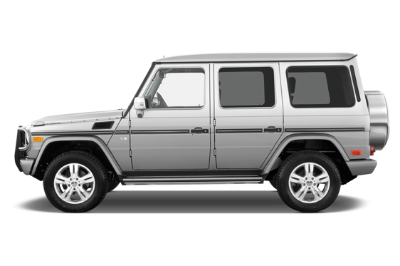 Slide 1 of 25: 2010 Mercedes-Benz G-Class