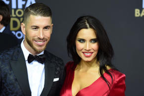 FIFA Ballon d'Or, Zurich, Switzerland - 11 Jan 2016 Sergio Ramos, Pilar Rubio