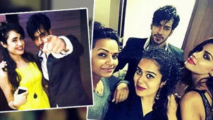 Rishabh Sinha's Grand BIRTHDAY Party With Priya, Gizele & Yuvika