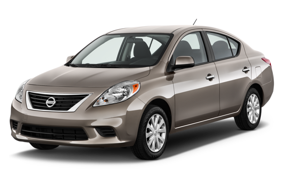 Slide 1 of 14: 2013 Nissan Versa Sedan