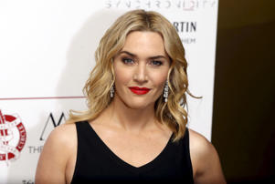 British actress Kate Winslet poses for photographers at the 36th London Critics' Circle Film Awards in London, Britain January 17, 2016. REUTERS/Neil
