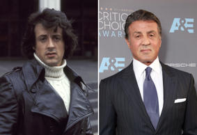 Sylvester Stallone at the Paramount Theater in New York City, New York (Photo by...