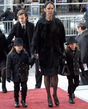 Funérailles aujourd'hui de René Angélil -époux de Céline Dion BBozXVz