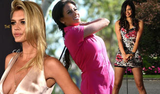 The most gorgeous women in golf