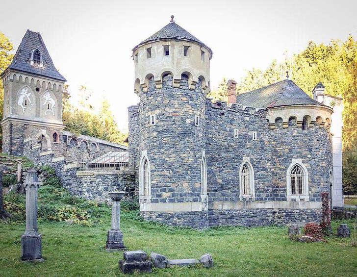 Fortress Kunzov, built in 1907.