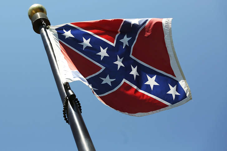 File photo of a Confederate flag.