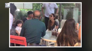 SRK's lunch date with AbRam, Suhana and Gauri