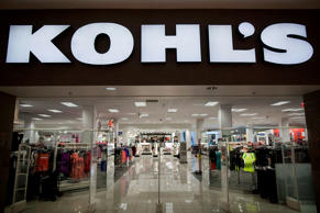Customers leave a Kohl's department store at a mall in Newport, NJ, Tuesday May 8, 2012.