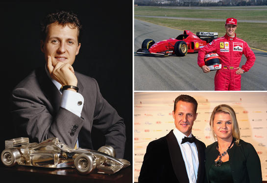 Slide 1 of 20: With 91 Grand Prix wins and a stellar track record, Michael Schumacher is arguably one of the most respected and revered names in Formula One racing. We take a look at some of the key moments in his life so far.