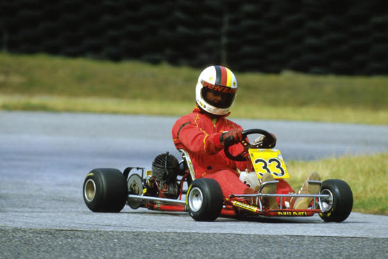 Michael Schumacher carting, Kerpen, Cologne, Germany - 01 Jul 1988 Michael Schumacher