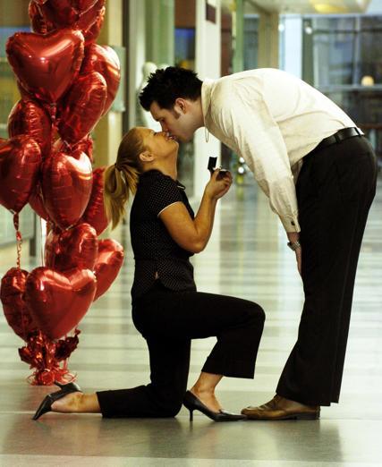 Leap year wedding proposal