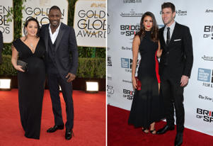 Naiyana Garth and Idris Elba; Nina Dobrev and Austin Stowell