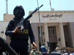 Egyptian courts have been cracking down on dissenters since the coup in 2013 (file photo) (Picture: [copyright])