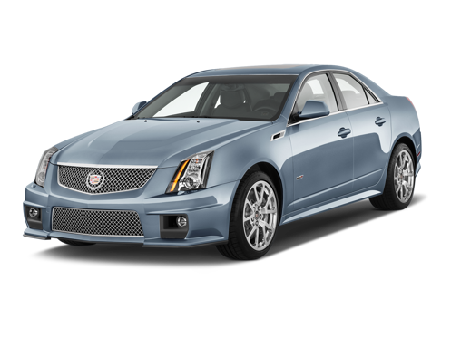 Slide 1 of 18: 2013 Cadillac CTS-V Sport Sedan