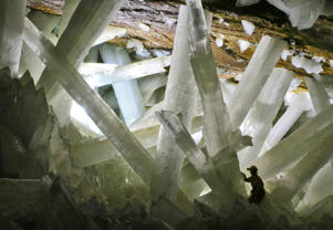 Cueva de los Cristales - The cave of Crystals.