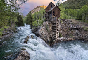 Crystal Mill, Colorado.