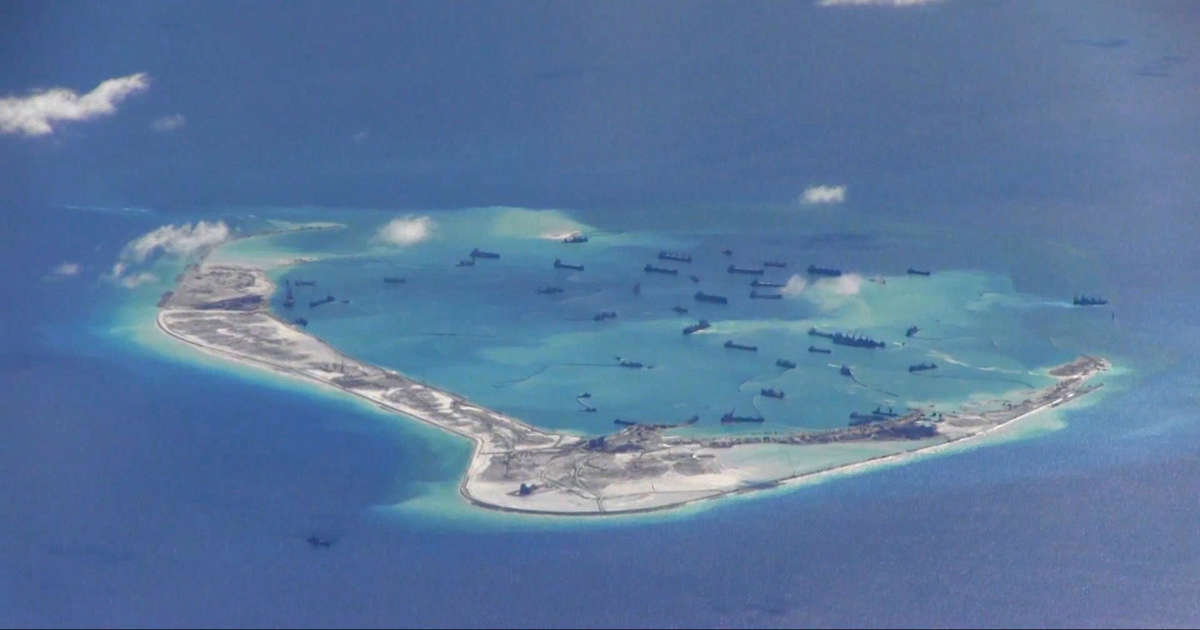 EXCLUSIVE-U.S. warships sail near South China Sea islands claimed by Beijing