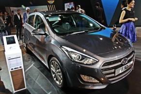 Auto Expo 2016: Hyundai i30 showcased