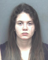 This January 2016 photo provided by Blacksburg Police Department shows Virginia Tech student Natalie Keepers, who was arrested in connection with the death of Nicole Madison Lovell.