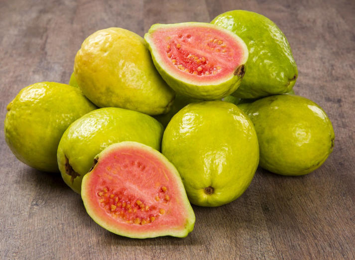 "<p>Get this: Studies suggest that those with high levels of vitamin C in their systems may also have the lowest incidence of diabetes. But before you reach for that orange to stay healthy, consider this: Guava provides 600% of the day's vitamin C in just one cup! A small round orange, on the other hand, packs just 85%. Although the tropical fruit packs 4 grams of protein per cup, Smith suggests pairing guava with an additional source of protein—like nuts or a low-fat cheese stick—to ensure blood sugar levels remain even keel. For more superfoods that can improve your health and help you slim down, check out these <a href=""http://www.eatthis.com/best-ever-weight-loss-superfoods"">40 Best-Ever Weight Loss Superfoods</a>!</p>"