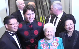 Trudeau marks Chinese New Year