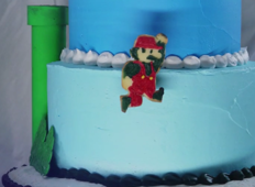 A delicious Super Mario stop motion film