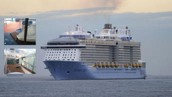 Cruise ship that sailed in storm headed back to home port