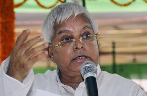 File: India's Rashtriya Janata Dal (RJD) chief Lalu Prasad Yadav speaks during a meeting with his party workers in the eastern Indian city of Patna June 20, 2009.