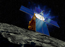The Near Earth Asteroid Rendezvous – Shoemaker (NEAR Shoemaker) in Eros' orbit