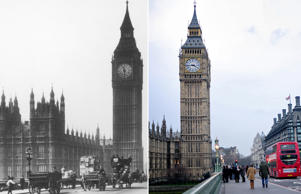 Best of Europe's cities: Then and now