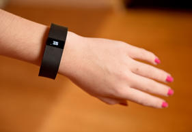 FitBit wearable fitness trackers.