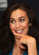 Megan Gale talks after being announced as Tourism New Zealand's celebrity ambassador.
