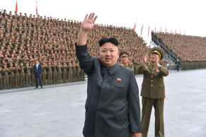 File: North Korean leader Kim Jong Un attends a photo session with KPA Unit 267 soldiers, who performed labour to remodel the Songdowon International Children's camp, in this undated photo released by North Korea's Korean Central News Agency (KCNA) in Pyongyang.
