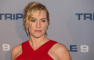 Kate Winslet at a screening of her new film Triple 9 in London
