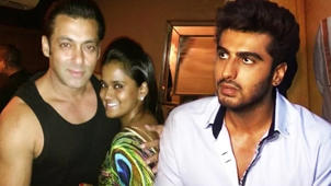 Salman's Sister Arpita Gives ROYAL IGNORE To Ex Arjun Kapoor