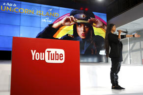 YouTube star Lilly Singh unveils YouTube's new paid subscription service at the YouTube Space LA in Playa Del Rey, Los Angeles, California, United States October 21, 2015.