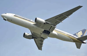 The Singapore Airlines flight had been travelling from New Delhi to Singapore (P...