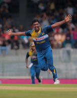 Hat-trick man Perera makes history
