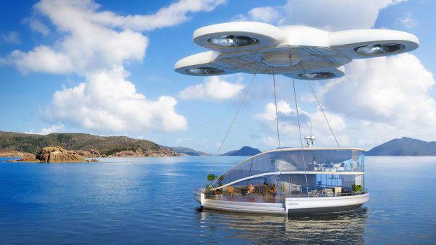 Drones personales nos permitirán llevar nuestra casa de vacaciones.