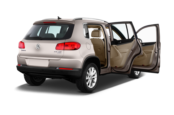 Slide 1 of 25: 2014 Volkswagen Tiguan