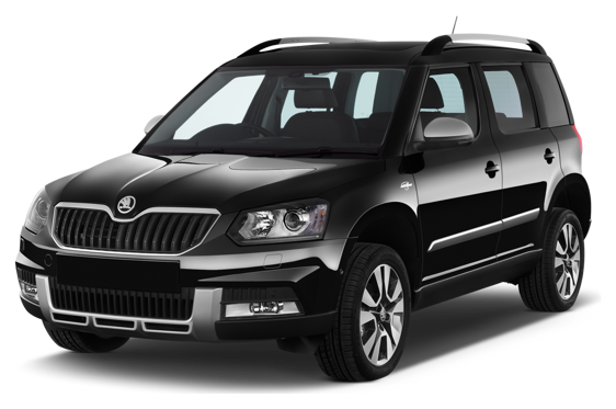Slide 1 of 14: 2014 Skoda Yeti Outdoor