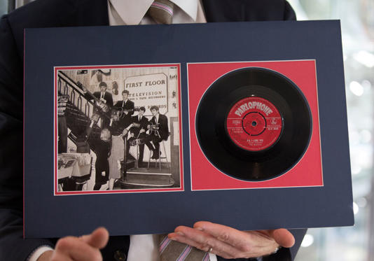 """Love Me Do/PS I Love You"" (1962), The Beatles, £3000 ($4160)"