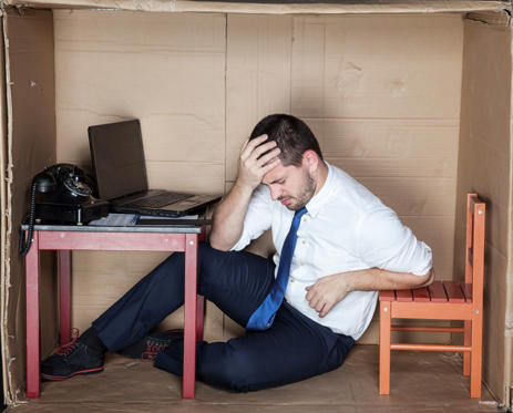 Diapositiva 2 de 12: headache at work
