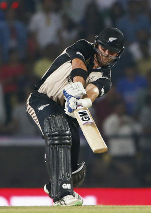 Corey Anderson top scored in the Black Caps' opening World T20 match.