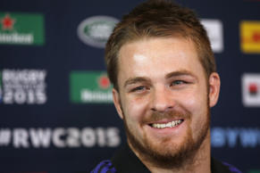 New Zealand's Sam Cane during the Press Conference.