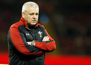 Wales's rugby team Head Coach Warren Gatland