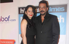 Manyata upset with Sanjay Dutt?