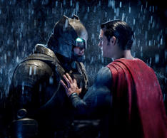 "(L-R) Ben Affleck as Batman, Henry Cavill as Superman in Warner Bros. Pictures action adventure ""Batman v Superman: Dawn of Justice"", a Warner Bros. pictures release"