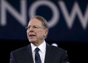 National Rifle Association CEO Wayne LaPierre speaks at the American Conservative Union 2016 annual conference in Maryland: NRA CEO Wayne LaPierre